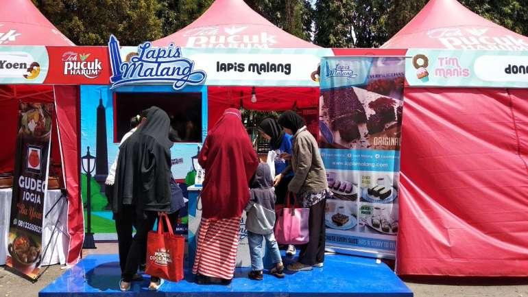 Lapis Malang Hadir di Pucuk Coolinary Festival Surabaya, Datang Yuk!