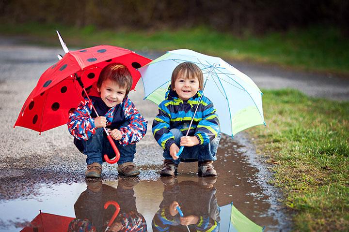 Musim Hujan Tiba! Jaga Kesehatan Si Kecil Dengan Tips ini Yuk Bunda!