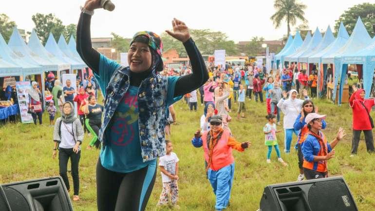 Bahagia Bersama Warga Singosari di Acara Lapis Malang Pesta Rakyat 2!