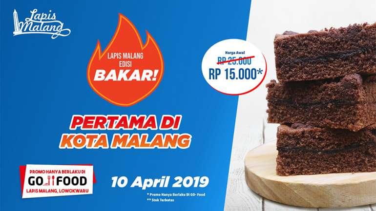 Lapis Bakar Malang, Produk Terbaru Lapis Malang!